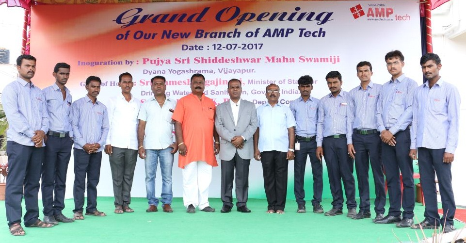 grand opening of new branch, AMP Tech