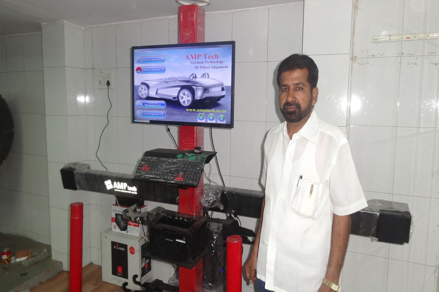 limer wheel alignment jalna customer