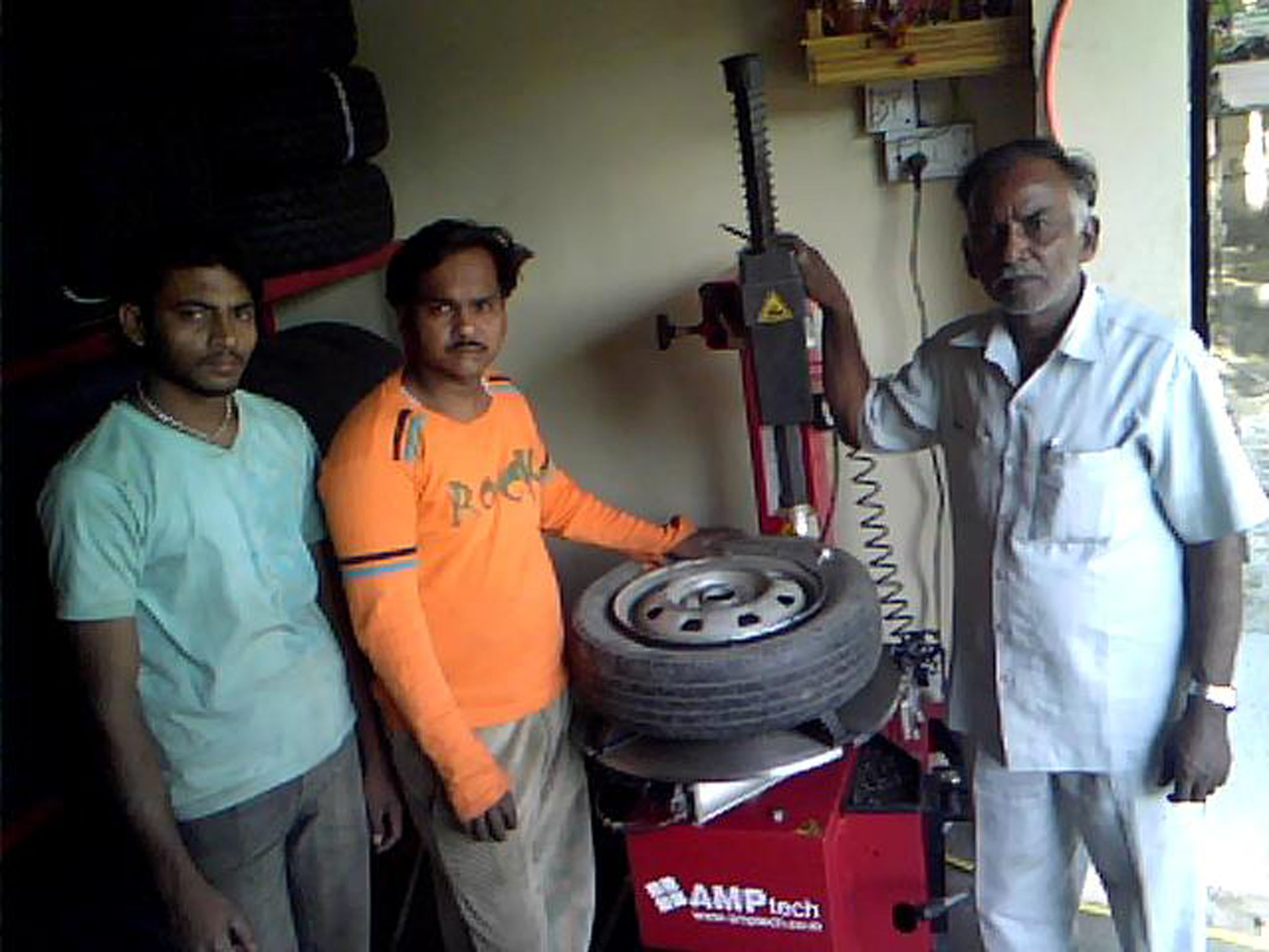 jayswal tyres pune customer